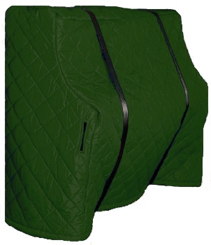 Upright Piano Cover - Green
