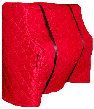 Upright Piano Cover - Red