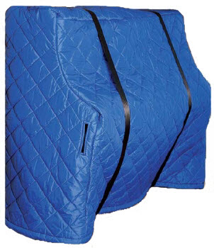 Upright Piano Cover - Royal Blue